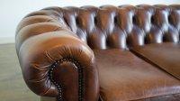 Sofa ze skórzanym obiciem